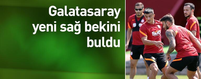 Galatasaray yeni sağ bekini buldu