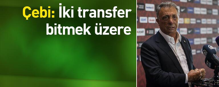 İki transfer bitmek üzere