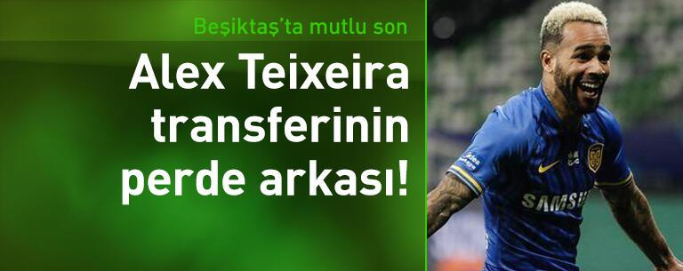 İşte Alex Teixeira transferinin perde arkası!
