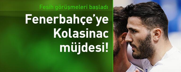 Fenerbahçe'ye Kolasinac müjdesi!