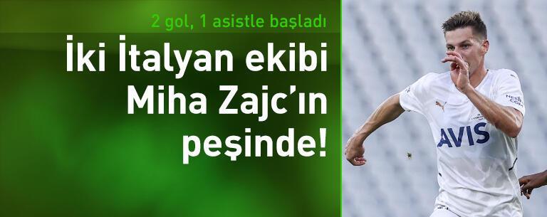 İki İtalyan ekibi Zajc'ın peşinde!
