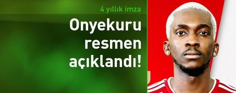 Henry Onyekuru resmen Olympiakos'ta!