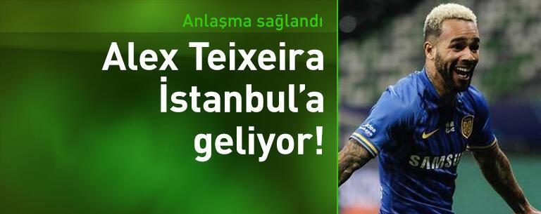 Alex Teixeira İstanbul'a geliyor!