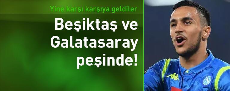 Beşiktaş ve Galatasaray yine karşı karşıya!