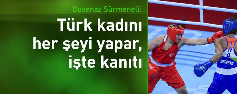Busenaz Sürmeneli: Türk kadını her şeyi yapar, işte kanıtı