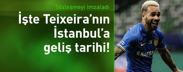 Alex Teixeira imzayı attı! Pazartesi İstanbul'da