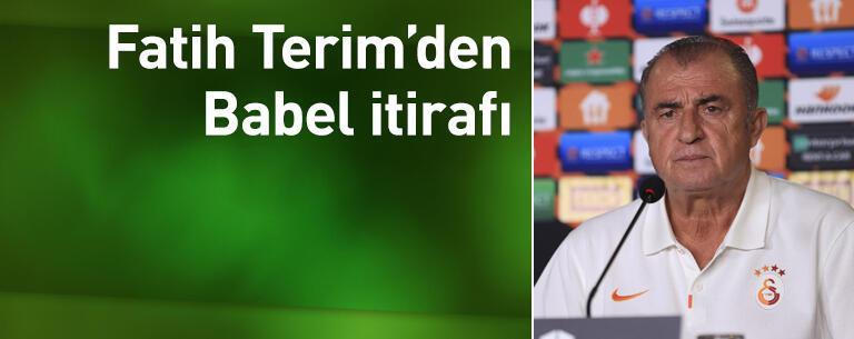 Terim'den Messi ve Babel itirafı