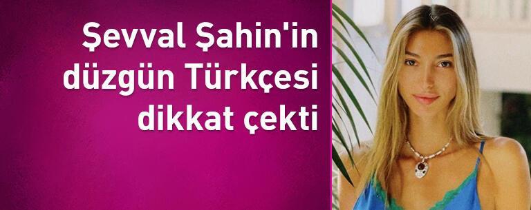 Şevval Şahin'in düzgün Türkçesi dikkat çekti