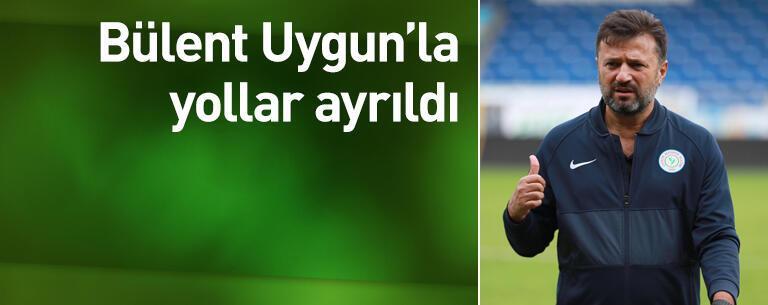 Rizespor Bülent Uygun'la yollarını ayırdı