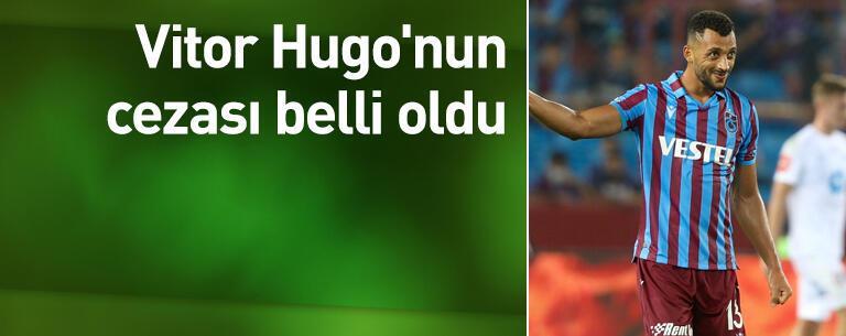 Vitor Hugo'ya 2 maç ceza
