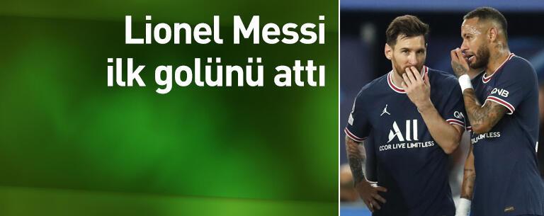 Lionel Messi ilk golünü attı