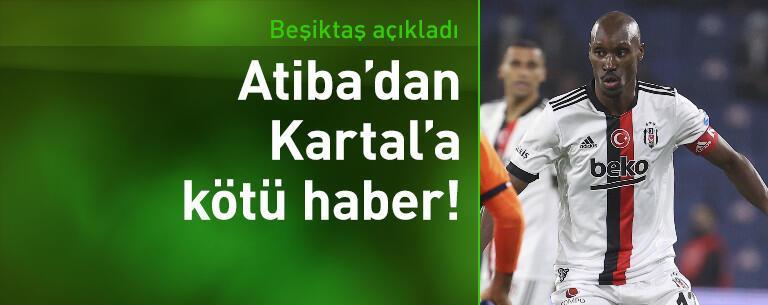 Beşiktaş'tan Atiba Hutchinson açıklaması!