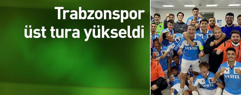 Trabzonspor üst tura yükseldi