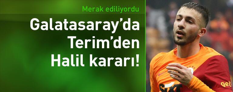 Fatih Terim'den Halil Dervişoğlu kararı