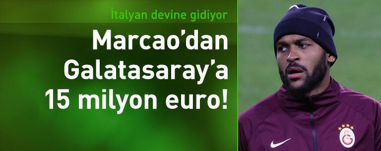 Galatasaraylı Marcao Roma yolcusu!