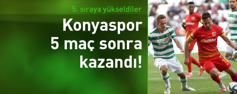 İttifak Holding Konyaspor - Yukatel Kayserispor: 2-0