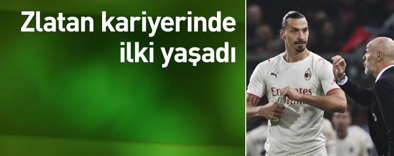 Ibrahimovic kariyerinde ilki yaşadı
