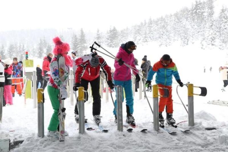 Ordu kayakta seçkin sporcu projesi