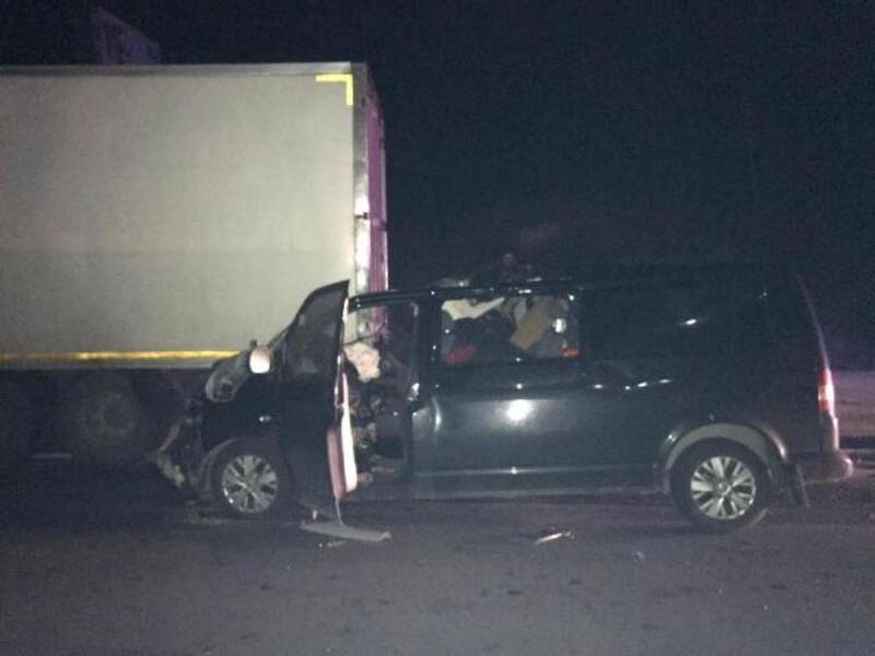 Gelibolu'da kaza: 1 ölü, 1 yaralı