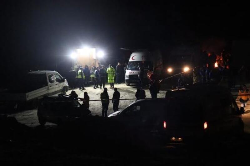 Milas'ta maden ocağında göçük: 2 işçi öldü, 1 işçi enkaz altında
