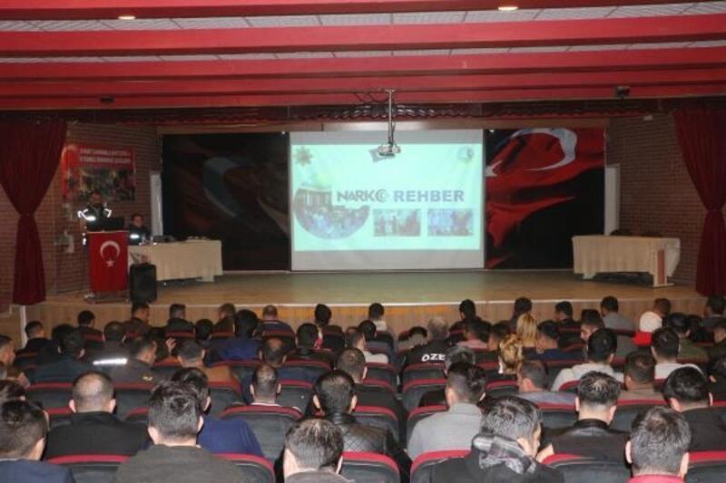Silopi'de 'Narko Rehber' semineri