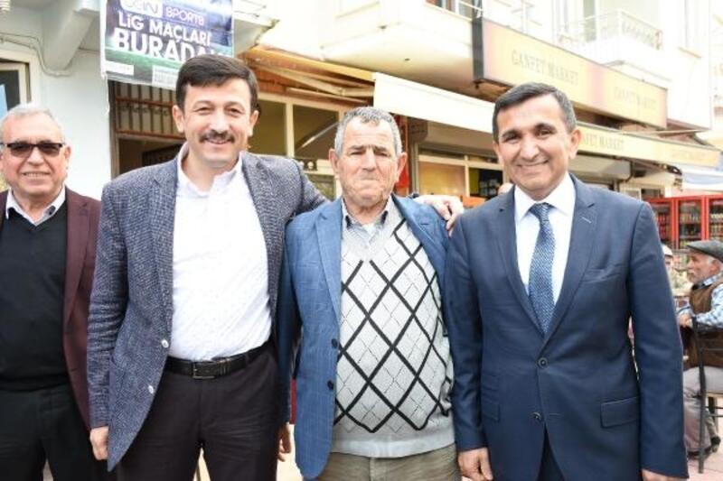 AK Parti'li Başterzi'nin seçim koordinasyon merkezi açıldı