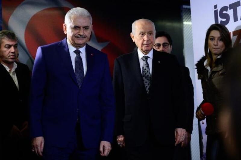 Binali Yıldırım: Genel Başkan'ın ziyareti Cumhur İttifakı'na güç vermiştir
