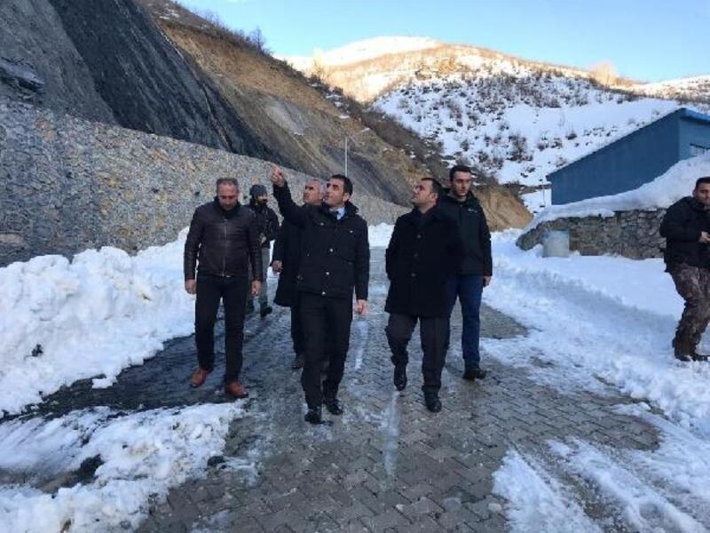 Kaymakam ve Belediye Başkanvekili Türkman Sanayi Sitesini Ziyaret Etti