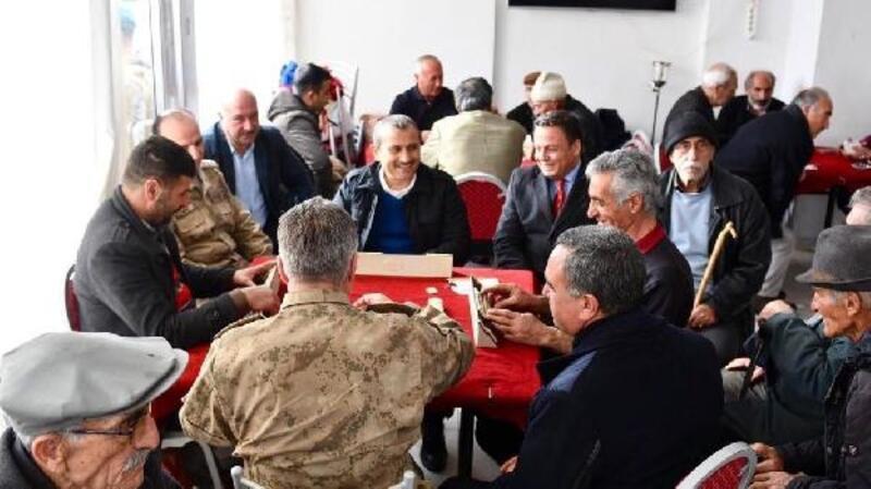 Tunceli Valisi Sonel'den Ovacık'a ziyaret