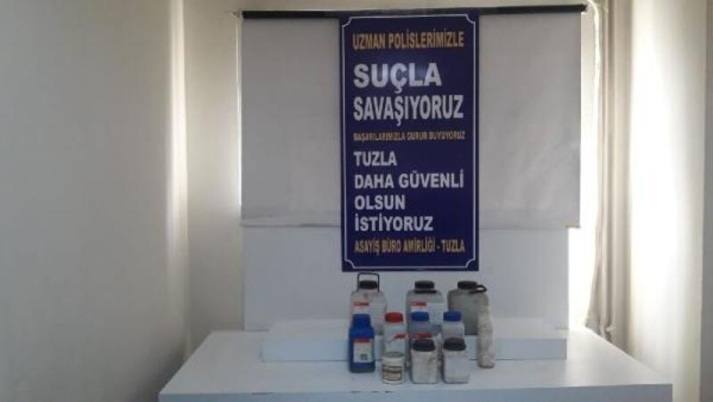 Tuzla'da 2 milyon değerindeki değerli madeni çalan şüpheliler yakalandı