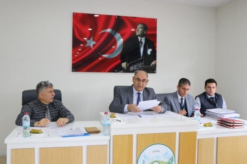 Pozantı Belediye Meclisi toplandı