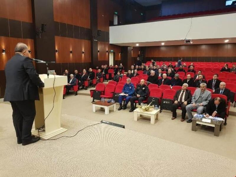 Yenişehir'de eğitim toplantıları yapıldı