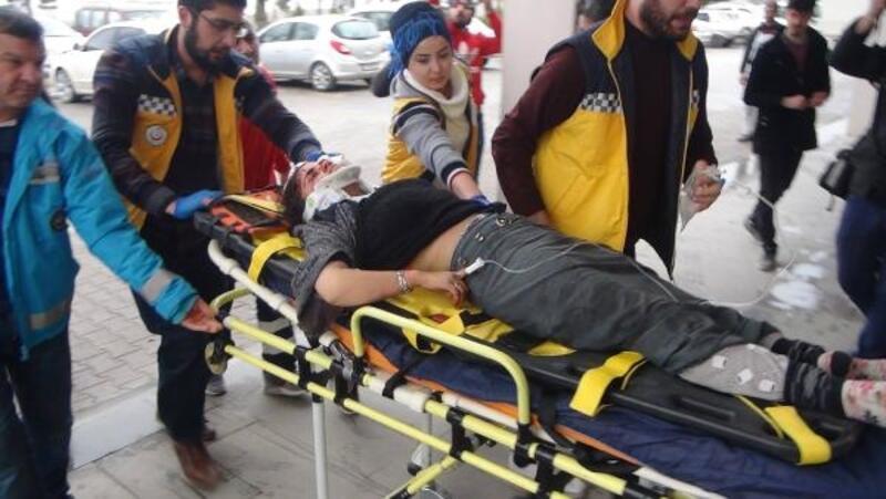 Adıyaman'da kaza: 3 aylıkHüseyin bebek ile 8 kişi yaralı