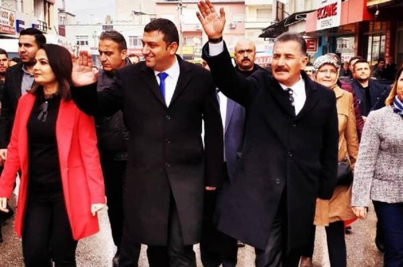 Mut'ta Cumhur İttifakının seçim bürosu açıldı