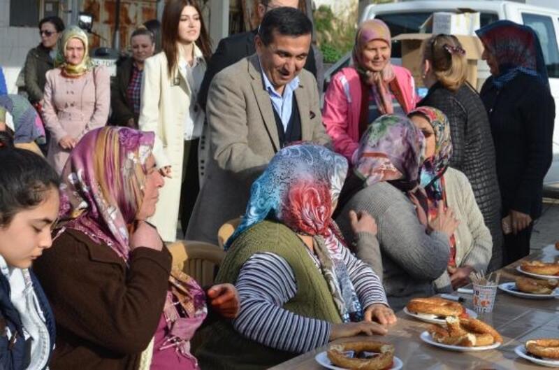 AK Parti Selçuk adayı Başterzi, tarımsal projeleri için destek aldı
