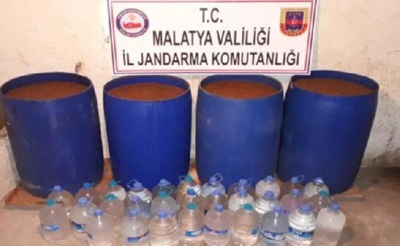 Malatya'da 'kaçak içki' operasyonu: 5 gözaltı