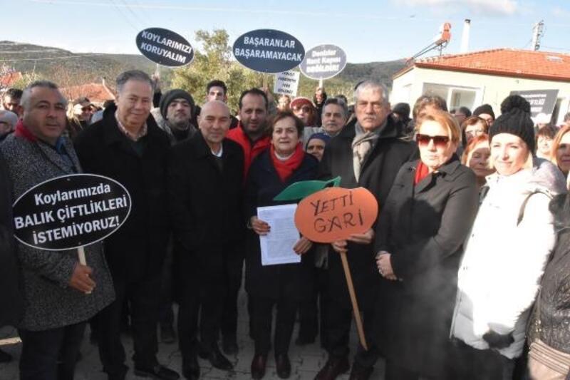 Urla'da vatandaşlar ÇED için halkın katılım toplantısını yaptırmadı