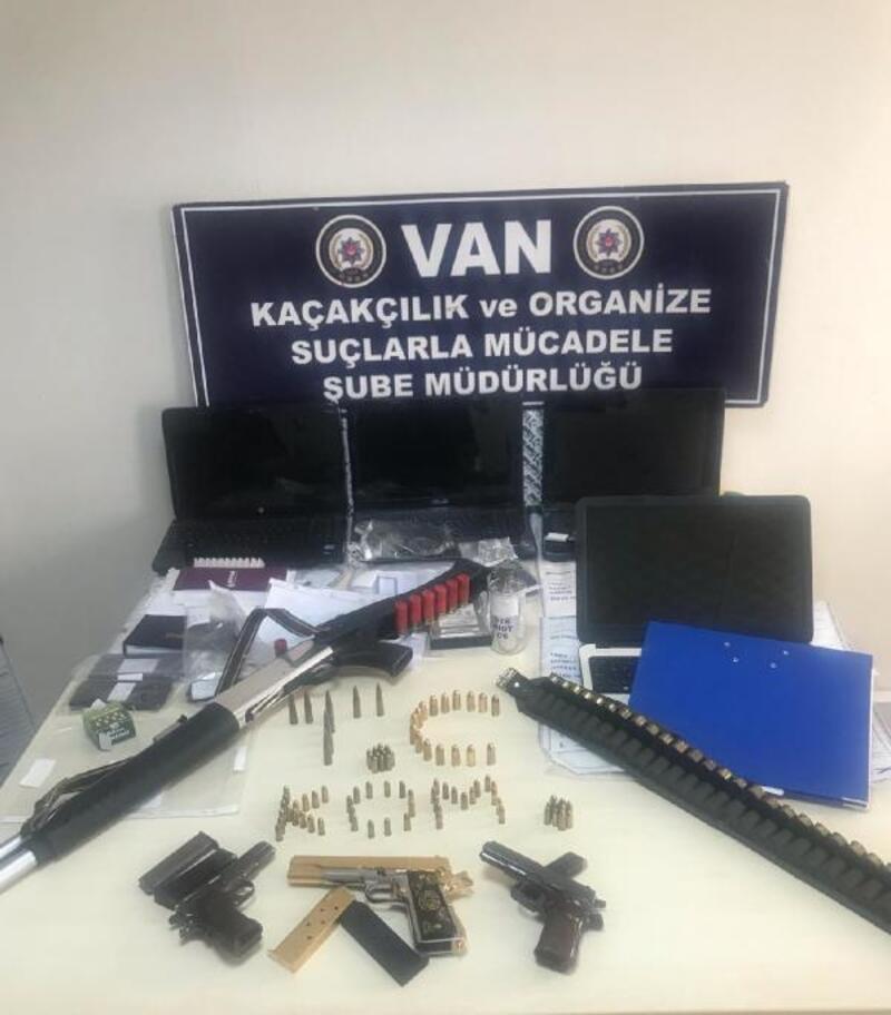 Van'da tefeci operasyonunda 8 tutuklama