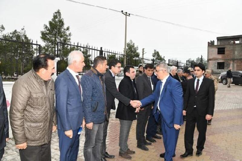 Vali Aykut Pekmez'den Samsat'a ziyaret