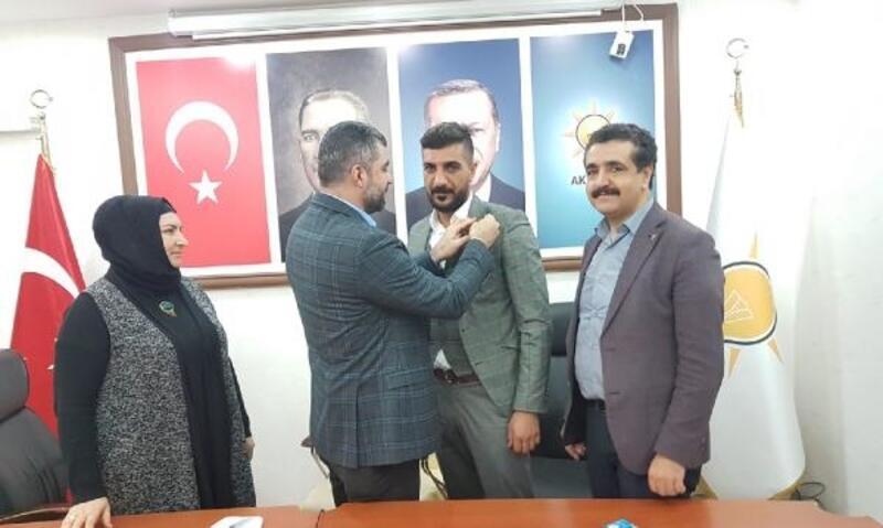 SP Derik İlçe Başkanı istifa edip, AK Parti'ye geçti