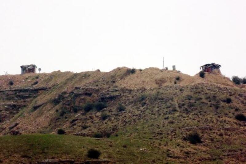 Menbiç sınırına ÖSO takviyesi sürüyor