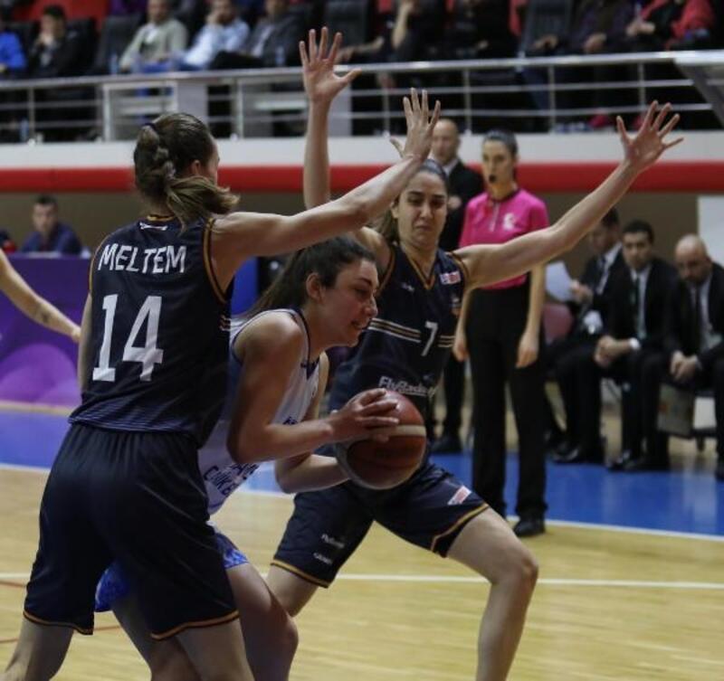 Samsun Canik Belediyespor – Çukurova Basketbol: 59 – 117