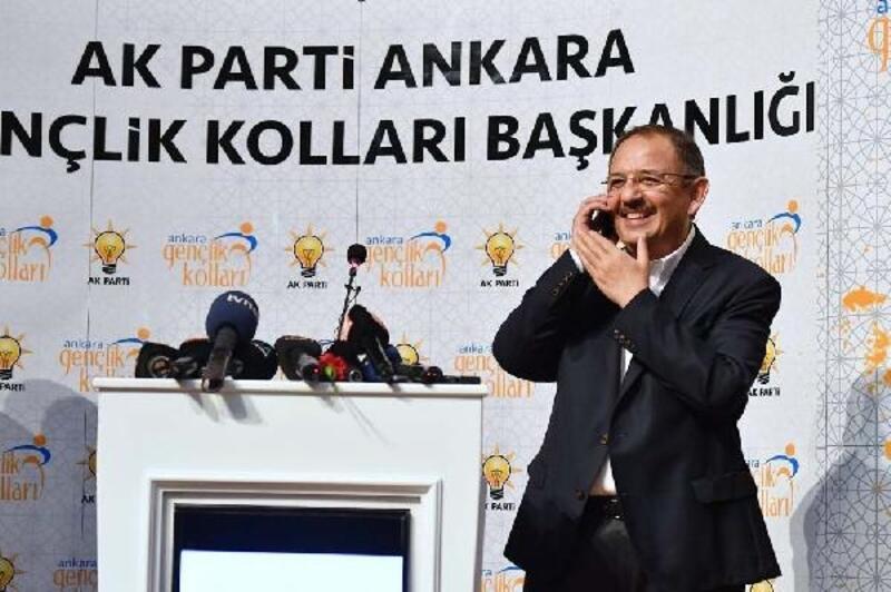 Özhaseki, AK Parti'li gençleri Cumhurbaşkanı Erdoğan ile görüştürdü