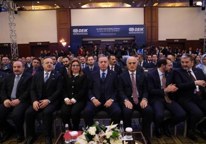 Cumhurbaşkanı Erdoğan, DEİK 2018 yılı Mali Genel Kurulu'nda konuştu