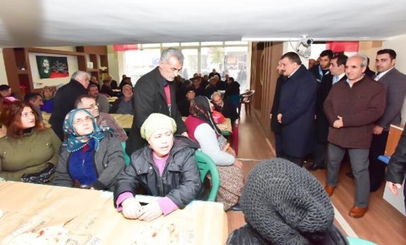 Gürkan, Abdal Musa Birlik lokmasına katıldı