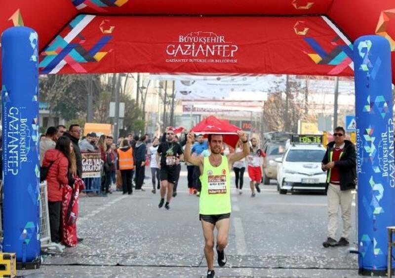 Gaziantep'in kurtuluşunun yıl dönümünde 6 ülkeden, 64 bin 400 kişi koştu