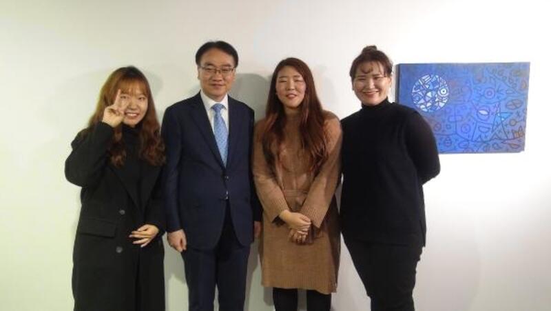 Koreli sanatçılardan Ankara'da resim sergisi