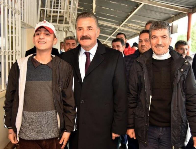 Başkan Tuna nakliyeci esnafını ziyaret etti