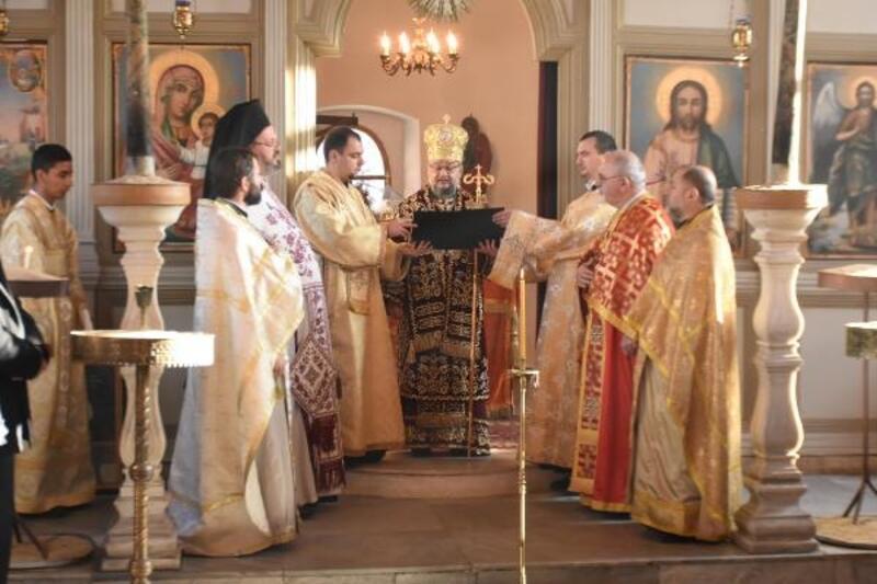 Edirne Bulgar Kilisesi'nde Noel ayini