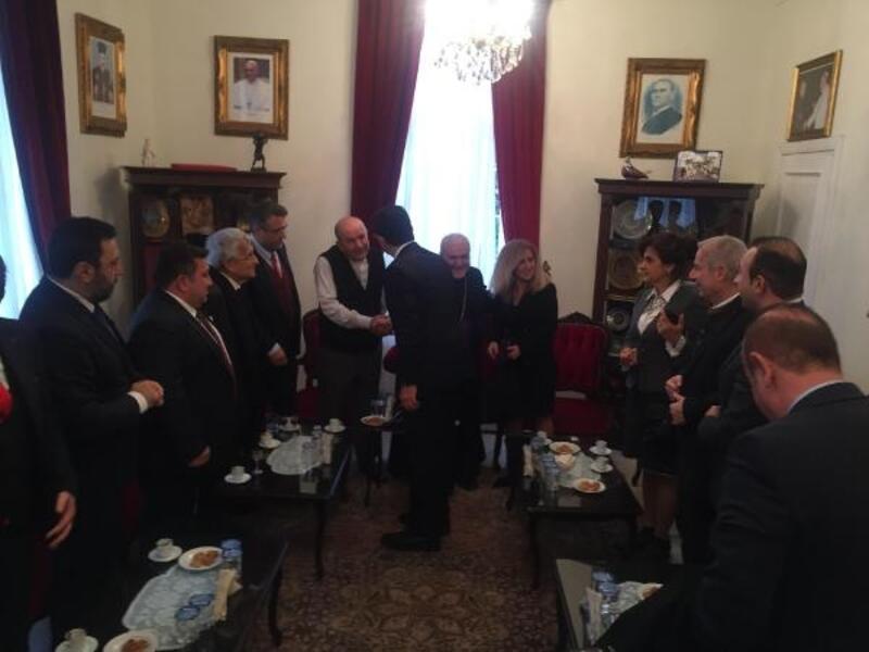 İmamoğlu'ndan dini liderlere 'Noel' ziyareti